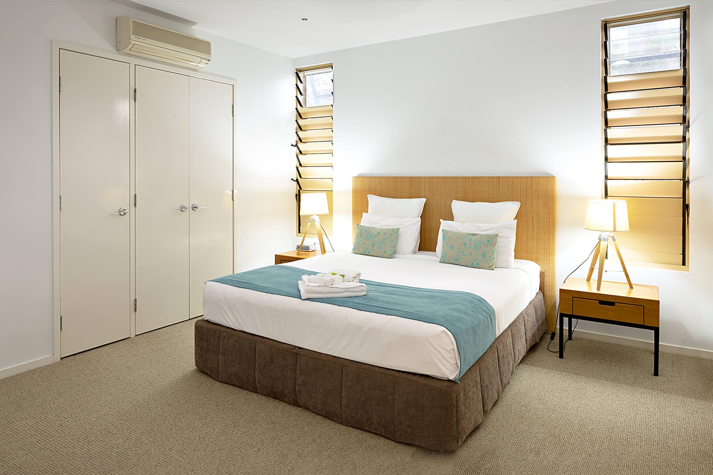 bedroom in resort hotel