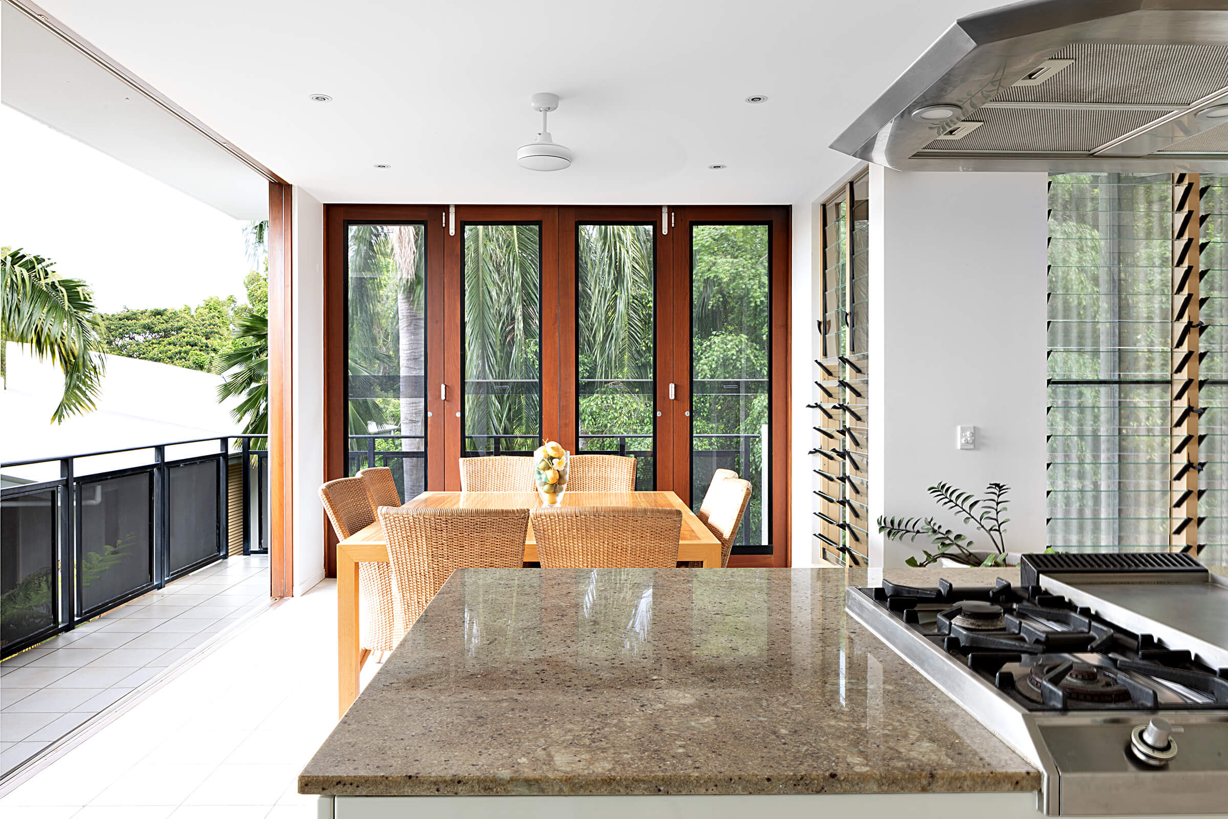 kitchen dining room living space photographer