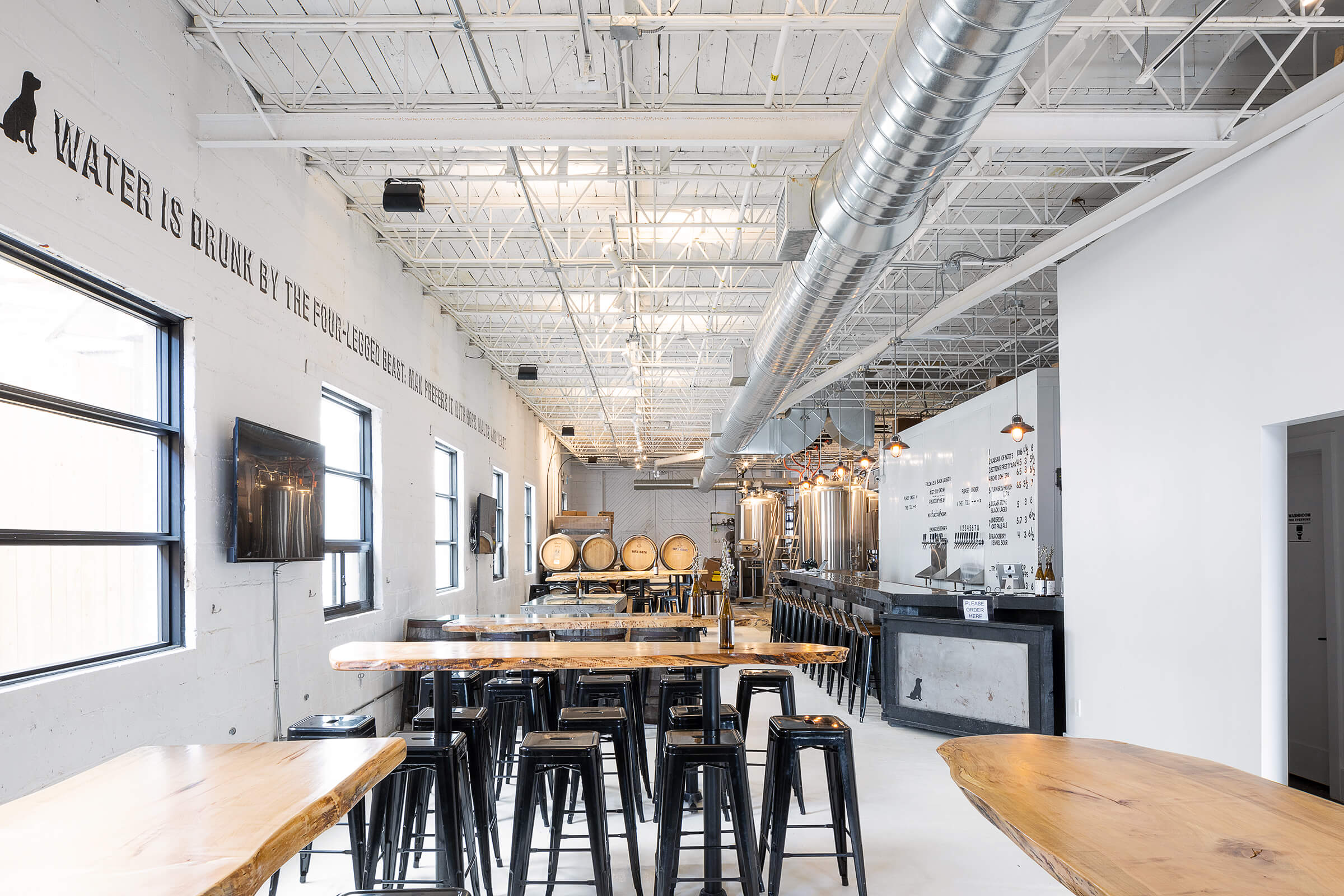Toronto tap room interior photography