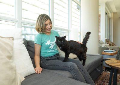 cat sitter in Toronto