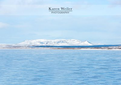 ice fjords in iceland - fine art print