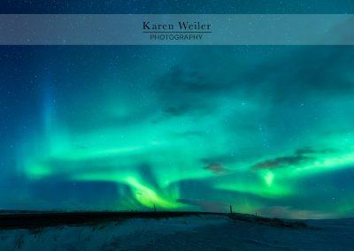 Northern Lights (Aurora Borealis) Iceland - fine art print